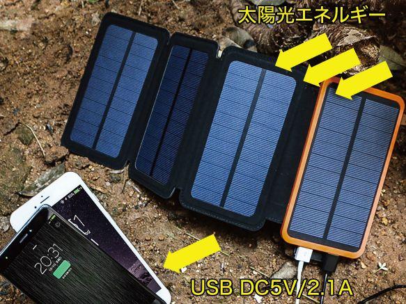 ソーラーモバイルバッテリーが人気な理由