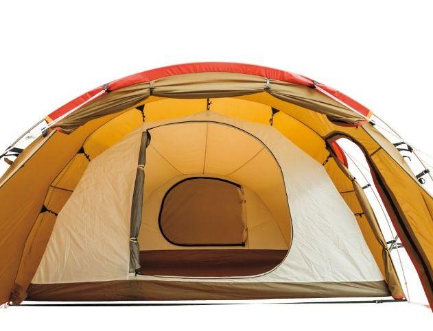 4人用テントで広々快適