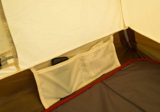テント内にポケット付き
