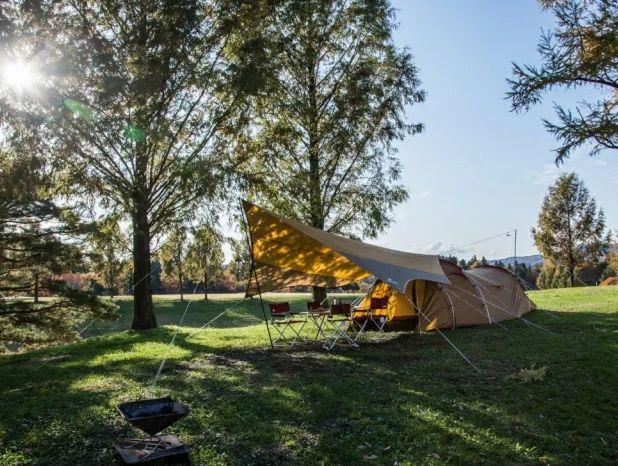 テントは軽量でコンパクトが一番