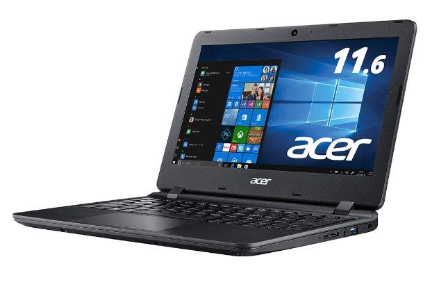 ACER ノートパソコン オブシディアンブラック