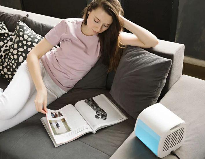 夏エアコンの代わりはevaCHILLパーソナルエアクーラーがおすすめ