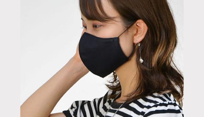 吸汗速乾日本製立体布マスク