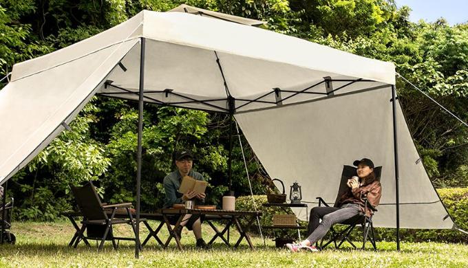 キャンプ用テントランキング4位 AND・DECO タープテント