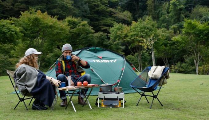 キャンプ用テントランキング9位 ハスキーファイター