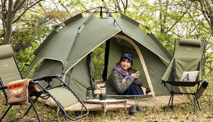 キャンプ用テントランキング1位 ワンタッチテント3人~4人用