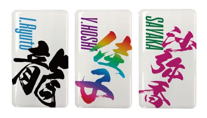 漢字入れ マスクケース