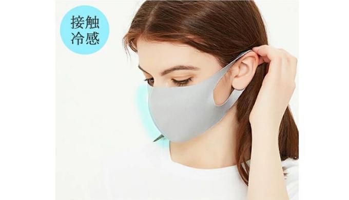 接触冷感夏用マスク