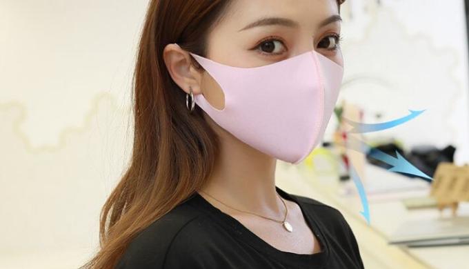 夏用マスクランキング8位 接触冷感マスク