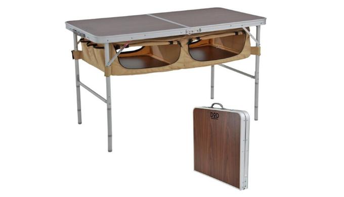 アウトドア用折りたたみテーブルおすすめ7位:DOD TB5-110T