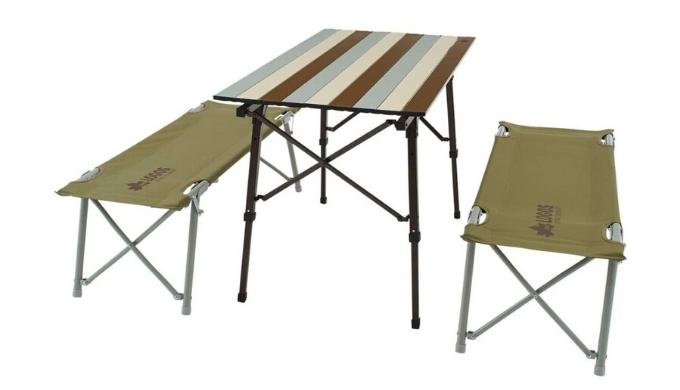 LOGOS(ロゴス) Life オートレッグベンチテーブルセット