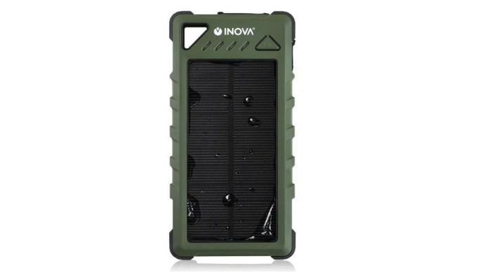 モバイルバッテリー ソーラー充電器