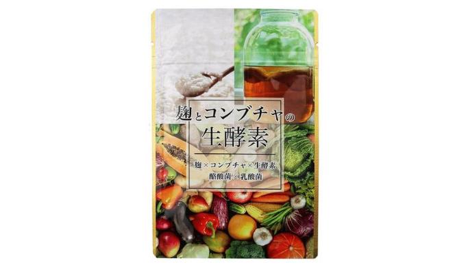 麹とコンブチャの生酵素