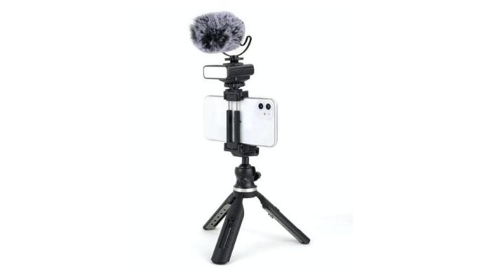 youtuberのカメラと接続するだけの機材セットで本格的な動画撮影が可能