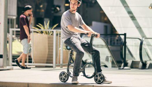 軽量で折りたためる電動バイクで電車にも持ち込める!公道でも使用可能