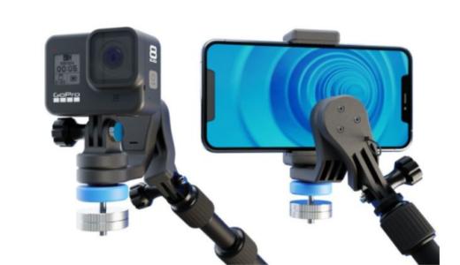 バッテリー不要のスタビライザー「GravGrip」が動画撮影におすすめ