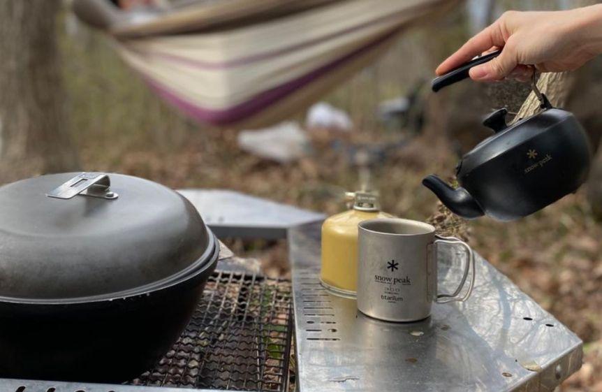 アウトドア・キャンプで飲むコーヒーは美味しい