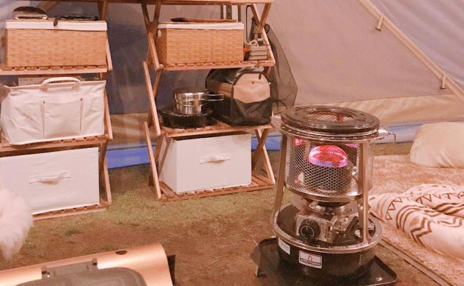 冬キャンプにおすすめの人気石油ストーブとは