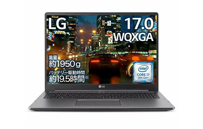 LGエレクトロニクス(LG Electronics) LG gram 17U790-PA76J