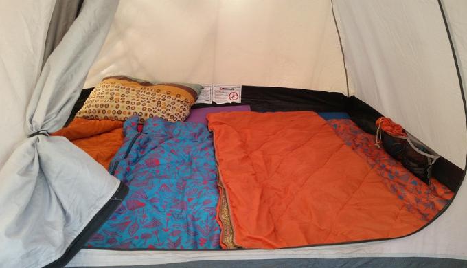 寝袋(シュラフ)はテントよりも大事